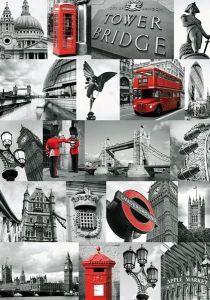 1000 dílků  Londýn - koláž  -   puzzle Ravensburger