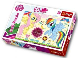 60 dílků - My Little Pony -  puzzle   Trefl