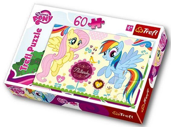 Puzzle Trefl - 60 dílků - My Little Pony - Trefl 17240