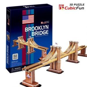 3 D Puzzle CubicFun - Brooklynský most ( Brooklyn Bridge ) 64 d.