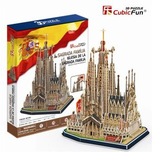 3 D Puzzle CubicFun - Sagrada Família - velká sestava
