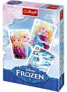 Frozen - Ledové království   - karty Černý Petr - TREFL