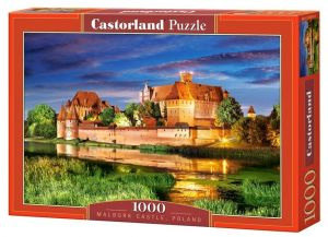 Puzzle Castorland 1000 dílků - Hrad Malbork - Polsko