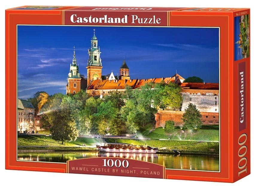 Puzzle Castorland 1000 dílků - Hrad Wawel - Polsko art 103027