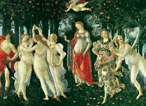 Puzzle Clementoni 1000 dílků - Botticelli - Jaro