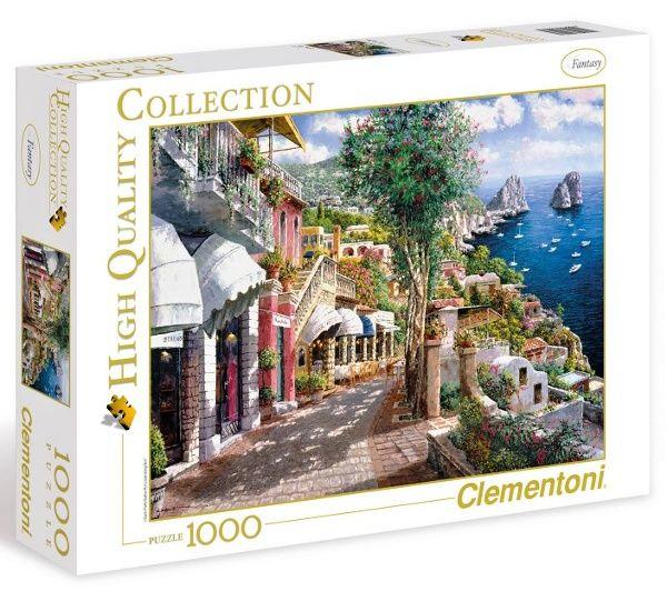 Puzzle Clementoni 1000 dílků - Capri , Clementoni 39257