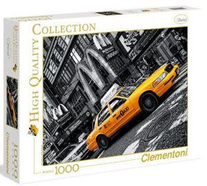 Puzzle Clementoni 1000 dílků  - New York - Taxi