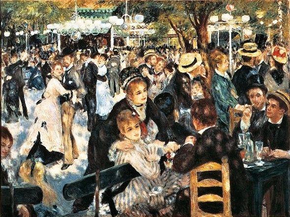 Puzzle Clementoni 1000 dílků - Renoir : Bál v Moulin 31412