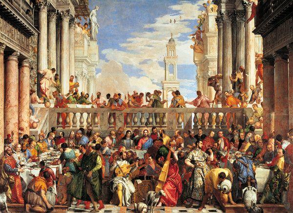 Puzzle Clementoni 1000 dílků - Svatba v Káně 31417