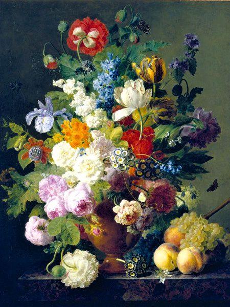 Puzzle Clementoni 1000 dílků - Van Dael - Váza s květinami , Clementoni 31415