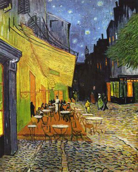 Puzzle Clementoni 1000 dílků - Van Gogh - Kavárna na terase v noci, Clementoni 31470