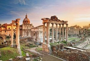 Puzzle Clementoni 2000 dílků - Římské náměstí ( fórum )