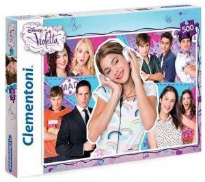Puzzle Clementoni 500 dílků - Violetta 30416