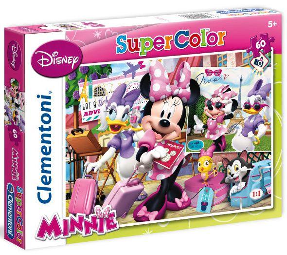 Puzzle Clementoni 60 dílků - Minnie 26900