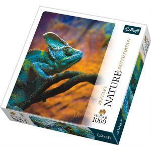 Puzzle Trefl  1000 dílků  -  kolekce NATURE -  Chameleón