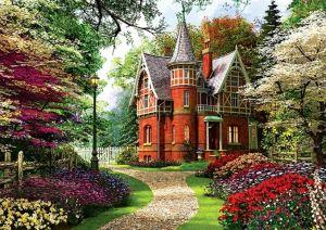 Puzzle Trefl 1000 dílků - Viktoriánský dům - Trefl 10355
