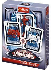 Spiderman  - karty Černý Petr - TREFL
