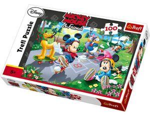 100 dílků  puzzle Trefl - Mickey 16249