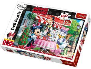 160 dílků - Minnie  -  puzzle   Trefl 15298