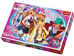 160 dílků - Winx  -  puzzle   Trefl 15296