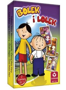 Bolek a Lolek - karty Černý Petr - Cartamundi
