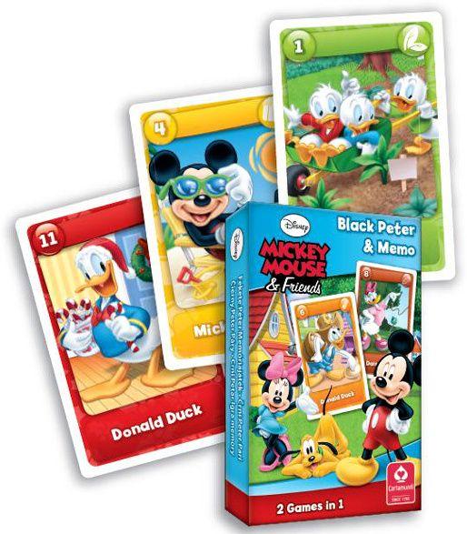 Karty Černý Petr - Mickey Mouse - Cartamundi