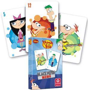 Phineas a Ferb - karty Černý Petr - Cartamundi
