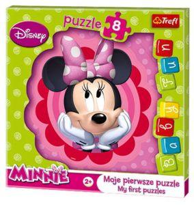 Deskové puzzle Trefl - 8 dílků - Minnie Mouse - 36117