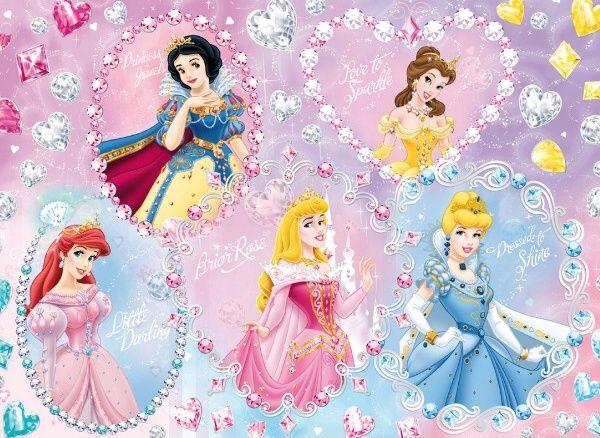 Puzzle Clementoni 104 dílků jewels - Princezna - 20017