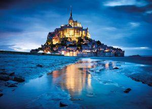 Puzzle Clementoni 1500 dílků  :  Le  Mont Saint Michel  31994