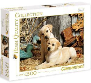 Puzzle Clementoni 1500 dílků  :  Lovečtí psi  31976