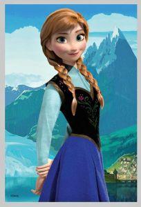 Puzzle mini 54 d - Trefl - Frozen - Ledové království 19501