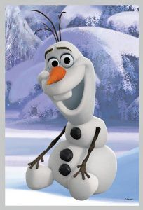 Puzzle mini 54 d - Trefl - Frozen - Ledové království 19502