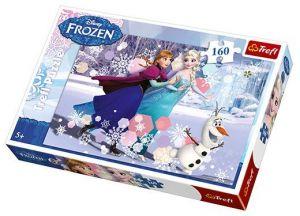 Puzzle Trefl 160 dílků - Frozen - Ledové království