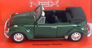 VW Beetle - green  -  1:34  Welly