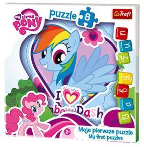 Deskové puzzle Trefl - 8 dílků - My Little Pony - 36118