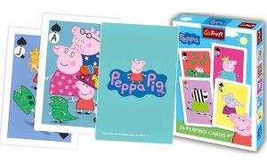 Prasátko Pepina  - hrací karty  24 ks - TREFL