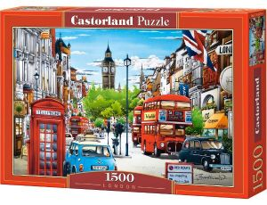Castorland - Londýn  - Puzzle 1500 dílků