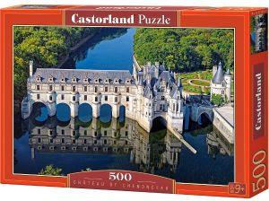 Puzzle Castorland 500 dílků  - zámek Chenonceau