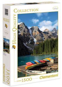 Puzzle Clementoni 1500 dílků - Jezero Moraine - Kanada