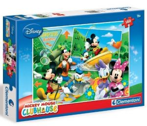 Puzzle Clementoni 180 dílků  - Mickey
