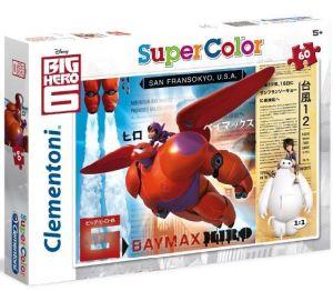 Puzzle Clementoni  - 60 dílků  - Big Hero 6 - Velká šestka