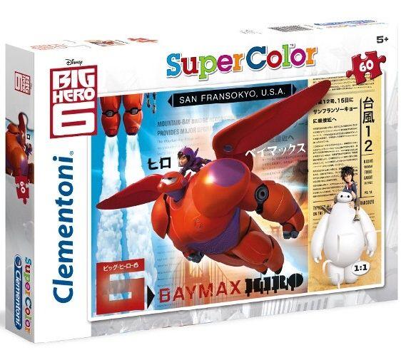 Puzzle Clementoni - 60 dílků - Big Hero 6 - Velká šestka 26925