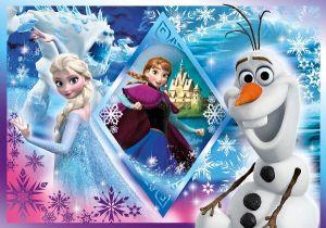 Puzzle Clementoni - 60 dílků - Frozen - Ledové království 26917