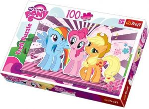 100 dílků  puzzle Trefl - My Little Pony    - 16228