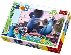 100 dílků  puzzle Trefl - RIO 2