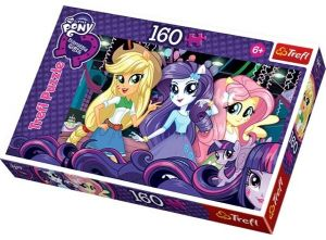 160 dílků -  Equestria Girls -  puzzle   Trefl 15311
