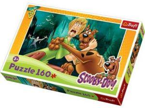 160 dílků - Scooby Doo  -  puzzle   Trefl 15235