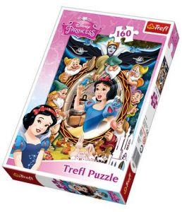 160 dílků - Sněhurka  -  puzzle   Trefl 15299