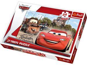 24 MAXI dílků  -  CARS 2 - puzzle Trefl 14224
